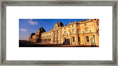 Facade Of An Art Museum, Musee Du Framed Print