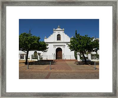 Facade Of Rhenish Mission Church Framed Print