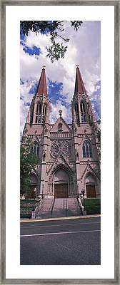 Facade Of The Cathedral Of St. Helena Framed Print