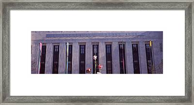 Facade Of The Frist Center For The Framed Print by Panoramic Images