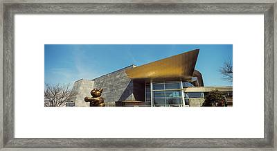 Facade Of The Hunter Museum Of American Framed Print by Panoramic Images