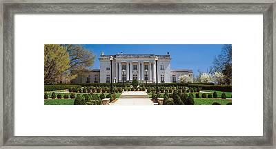 Facade Of The Kentucky Governors Framed Print