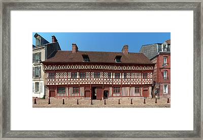 Facade Of The La Maison Henri Iv Framed Print by Panoramic Images