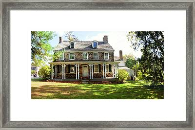 Facade Of The Parry Mansion Built Framed Print by Panoramic Images