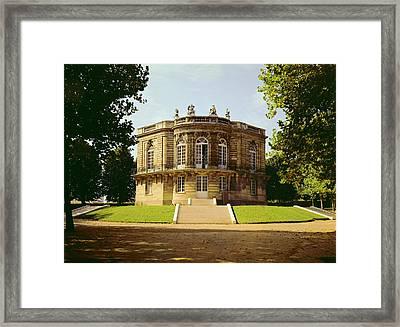 Facade Of The Pavillon De Hanovre Photo Framed Print by .