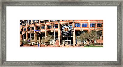 Facade Of The Phoenix City Hall Framed Print by Panoramic Images