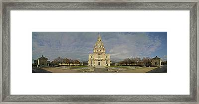 Facade Of The St-louis-des-invalides Framed Print