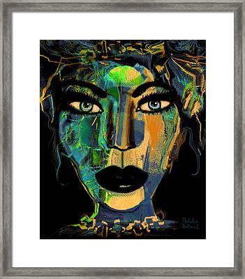 Face 16 Framed Print