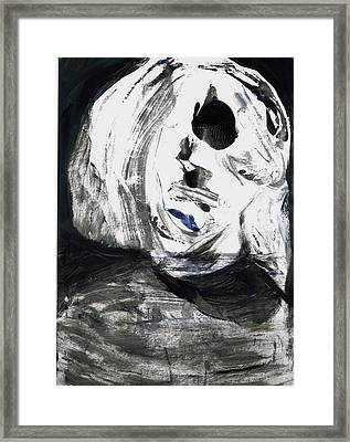 Face 3 Framed Print