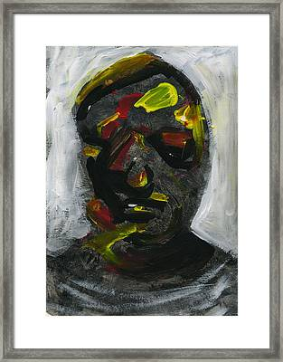 Face 7 Framed Print