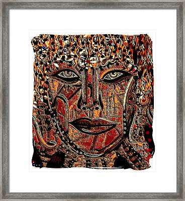 Face 9 Framed Print