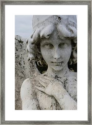 Face Of An Angel Framed Print by Brian Jones