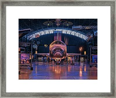 Face Of Discovery Framed Print