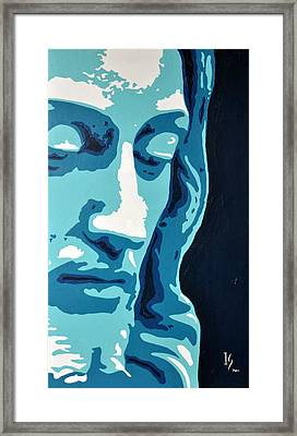 Face Of Greatness  Framed Print by Ivan Guaderrama