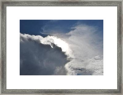 Face Of Mother Nature Framed Print