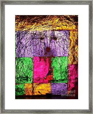 Face Of The Invisible - Ajaypal Temple Framed Print