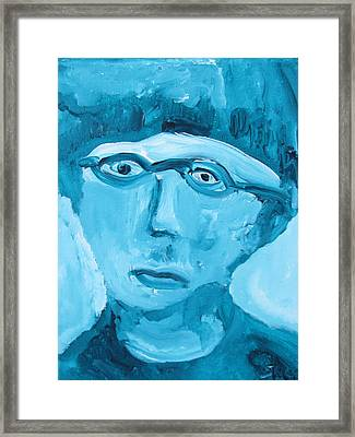 Face One Framed Print by Shea Holliman
