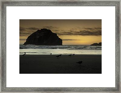 Face Rock Bandon By The Sea Framed Print