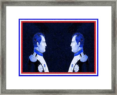 Face The Enemy Framed Print by Charlie Ross