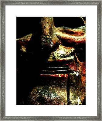 Framed Print featuring the photograph Face Time by Newel Hunter