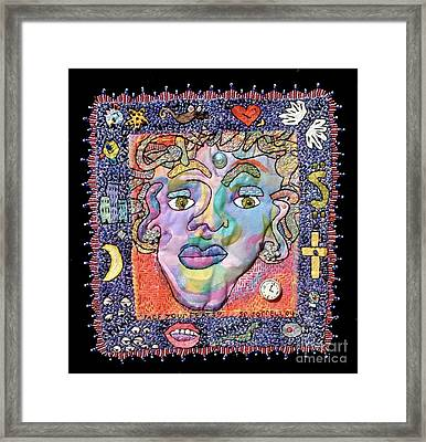 Face Your Fears Framed Print by Susan Sorrell