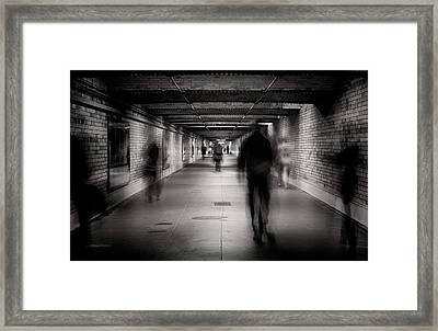 Faceless #1 Framed Print