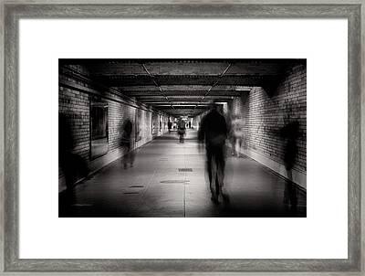 Faceless #1 Framed Print