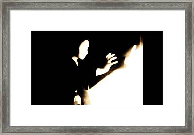 Framed Print featuring the photograph Faceless Magician  by Jessica Shelton