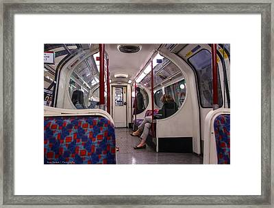 Framed Print featuring the photograph Faceless Strangers by Ross Henton