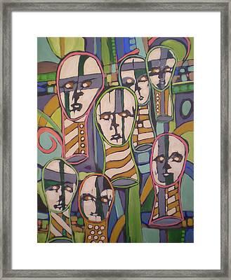 __soldfaces #2 Framed Print