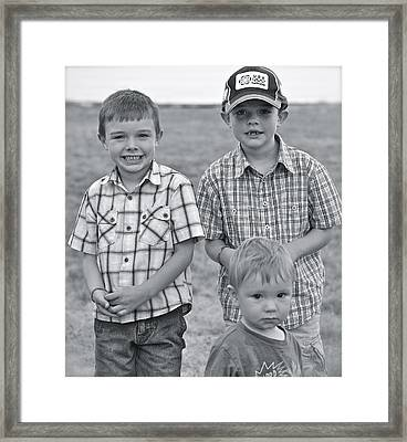 Framed Print featuring the photograph Faces Of America by Barbara Dudley