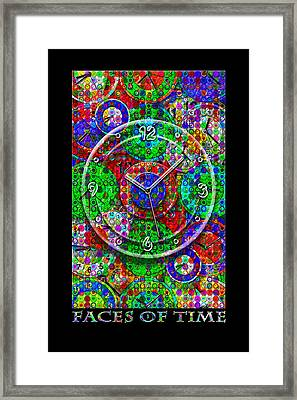 Faces Of Time 3 Framed Print by Mike McGlothlen