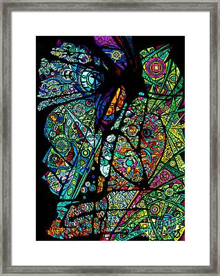 Facets Of Love Framed Print