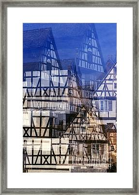 Fachwerk #1 Framed Print by Angela Bruno