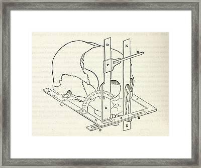 Facial Goniometer Framed Print