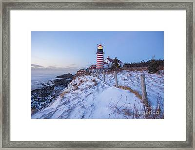 Facing East  Framed Print