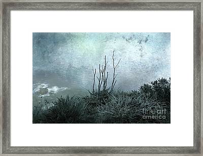 Facing The Unknown Together Framed Print