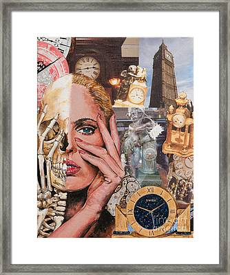 Facing Time Framed Print by Anne Wernlund