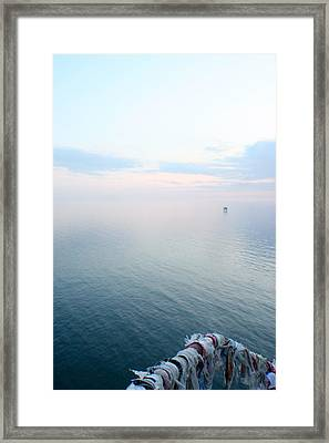 Framed Print featuring the photograph Facing Yalta by Jon Emery