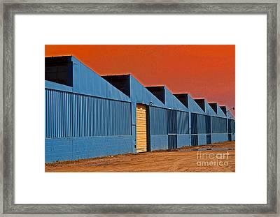Factory Building Framed Print