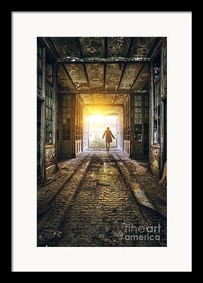 Thriller Framed Prints