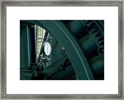 Factory Elements Framed Print by Akos Kozari