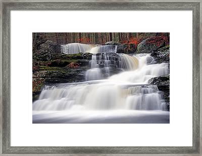 Factory Falls Framed Print