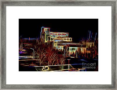 Factory Framed Print by Milan Karadzic