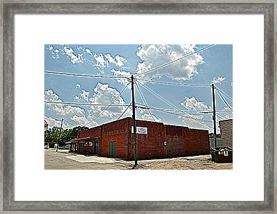 Factory Store Framed Print by Beverly Hammond