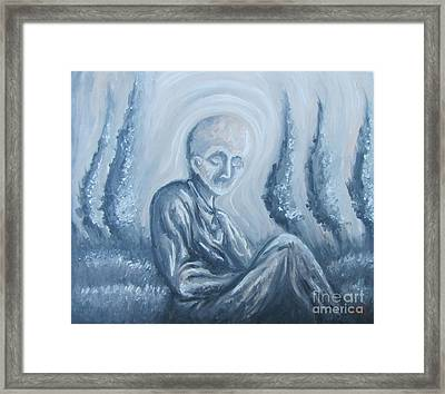 Framed Print featuring the painting Fade Away by Michael  TMAD Finney