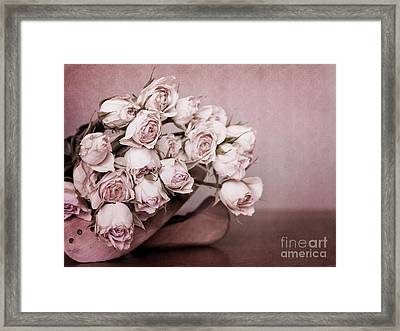 Fade Away Framed Print by Priska Wettstein