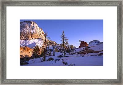 Fade Framed Print