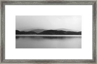 Fade To Gray Framed Print