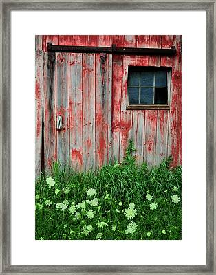 Fade To Gray Framed Print by Thomas Schoeller